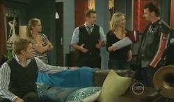 Dan Fitzgerald, Elle Robinson, Toadie Rebecchi, Steph Scully, Lucas Fitzgerald in Neighbours Episode 5750