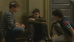 Ringo Brown, Declan Napier, Zeke Kinski in Neighbours Episode 5752