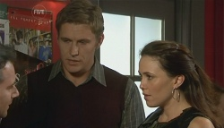 Lucas Fitzgerald, Dan Fitzgerald, Libby Kennedy in Neighbours Episode 5753