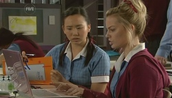 Sunny Lee, Donna Freedman in Neighbours Episode 5753