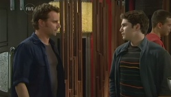 Lucas Fitzgerald, Declan Napier in Neighbours Episode 5753