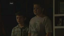 Ben Kirk, Callum Jones in Neighbours Episode 5754