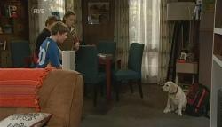 Callum Jones, Ben Kirk, Sophie Ramsay, Rocky in Neighbours Episode 5754
