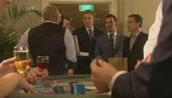 Toadie Rebecchi, Dan Fitzgerald, Lucas Fitzgerald, Paul Robinson in Neighbours Episode 5756