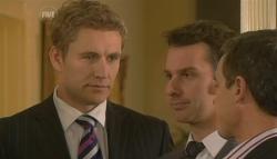 Dan Fitzgerald, Lucas Fitzgerald, Paul Robinson in Neighbours Episode 5756