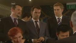 Toadie Rebecchi, Lucas Fitzgerald, Dan Fitzgerald in Neighbours Episode 5757