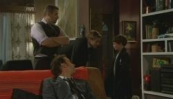 Toadie Rebecchi, Lucas Fitzgerald, Dan Fitzgerald, Ben Kirk in Neighbours Episode 5757