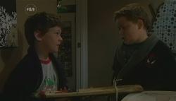 Ben Kirk, Callum Jones in Neighbours Episode 5757