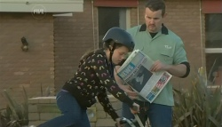 Sophie Ramsay, Toadie Rebecchi in Neighbours Episode 5757