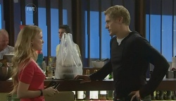 Elle Robinson, Dan Fitzgerald in Neighbours Episode 5757