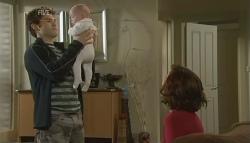 Declan Napier, India Napier, Rebecca Napier in Neighbours Episode 5759