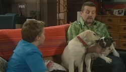 Callum Jones, Rocky, Toadie Rebecchi in Neighbours Episode 5759