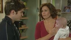 Declan Napier, Rebecca Napier, India Napier in Neighbours Episode 5759