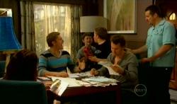 Dan Fitzgerald, Ben Kirk, Callum Jones, Lucas Fitzgerald, Toadie Rebecchi in Neighbours Episode 5765