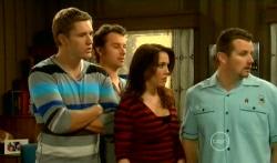 Dan Fitzgerald, Lucas Fitzgerald, Libby Kennedy, Toadie Rebecchi in Neighbours Episode 5765