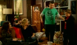 Libby Kennedy, Steph Scully, Toadie Rebecchi, Rocky, Callum Jones in Neighbours Episode 5789