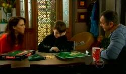 Libby Kennedy, Ben Kirk, Karl Kennedy in Neighbours Episode 5794