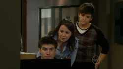 Declan Napier, Kate Ramsay, Zeke Kinski in Neighbours Episode 5795