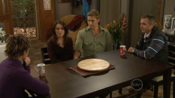 Susan Kennedy, Libby Kennedy, Dan Fitzgerald, Karl Kennedy in Neighbours Episode 5795