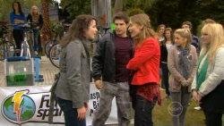 Kate Ramsay, Declan Napier, Amanda Fowler in Neighbours Episode 5795