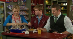 Donna Freedman, Ringo Brown, Toadie Rebecchi in Neighbours Episode 5797