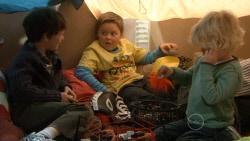 Ben Kirk, Callum Jones, Charlie Hoyland in Neighbours Episode 5799
