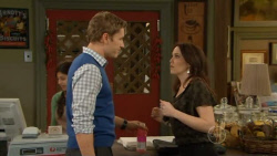 Dan Fitzgerald, Libby Kennedy in Neighbours Episode 5800