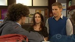 Harry Ramsay, Libby Kennedy, Dan Fitzgerald in Neighbours Episode 5800