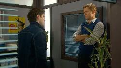 Declan Napier, Dan Fitzgerald in Neighbours Episode 5801