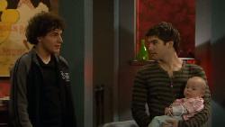 Harry Ramsay, Declan Napier, India Napier in Neighbours Episode 5802