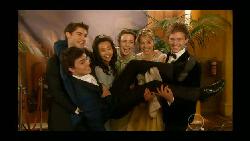 Declan Napier, Sunny Lee, Kate Ramsay, Donna Freedman, Ringo Brown, Zeke Kinski in Neighbours Episode 5803