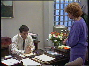 Madge Bishop, Paul Robinson in Neighbours Episode 0376