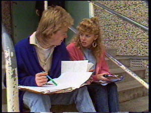 Scott Robinson, Charlene Mitchell in Neighbours Episode 0377