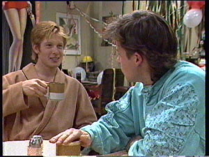 Clive Gibbons, Mike Young in Neighbours Episode 0380