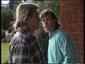 Shane Ramsay, Mike Young in Neighbours Episode 0380