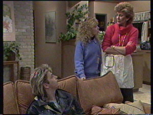 Shane Ramsay, Madge Bishop, Charlene Mitchell in Neighbours Episode 0382