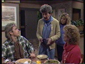 Shane Ramsay, Nell Mangel, Charlene Mitchell, Madge Mitchell in Neighbours Episode 0382