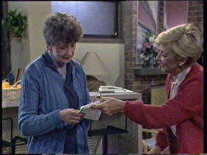 Nell Mangel, Eileen Clarke in Neighbours Episode 0384