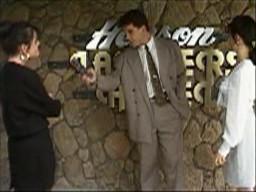 Caroline Alessi, Paul Robinson, Christina Alessi in Neighbours Episode 1448