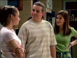 Caitlin Atkins, Toadie Rebecchi, Anne Wilkinson in Neighbours Episode 2951