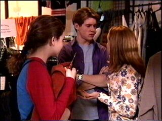 Lance Wilkinson, Claire Girard, Hannah Martin in Neighbours Episode 2953