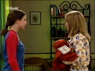 Hannah Martin, Claire Girard in Neighbours Episode 2953