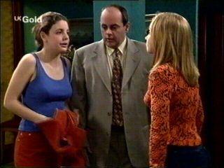 Hannah Martin, Claire Girard, Philip Martin in Neighbours Episode 2953