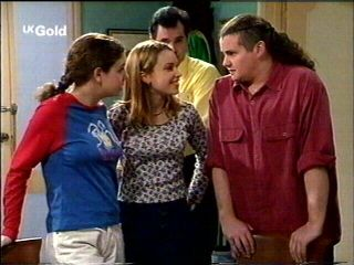 Karl Kennedy, Claire Girard, Hannah Martin, Toadie Rebecchi in Neighbours Episode 2954