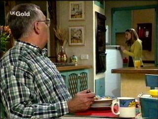 Harold Bishop, Claire Girard in Neighbours Episode 2954