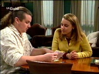 Toadie Rebecchi, Claire Girard in Neighbours Episode 2954