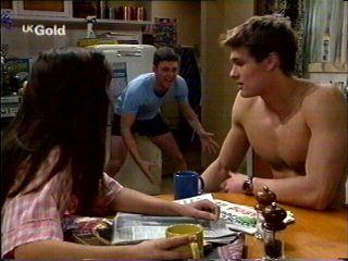 Sarah Beaumont, Ben Atkins, Matt Compton in Neighbours Episode 2959