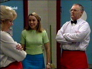 Madge Bishop, Claire Girard, Harold Bishop in Neighbours Episode 2959