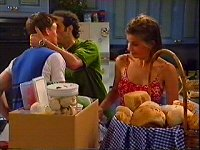 Billy Kennedy, Vincenzo Colletti, Anne Wilkinson in Neighbours Episode 3288