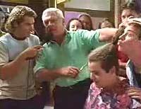 Joel Samuels, Lou Carpenter, Toadie Rebecchi, Lance Wilkinson in Neighbours Episode 3331